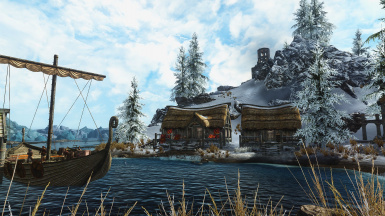A postcard from Skyrim