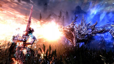 Fight against Alduin 1