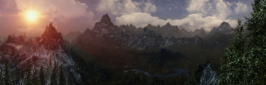 Panorama of Whiterun Hold