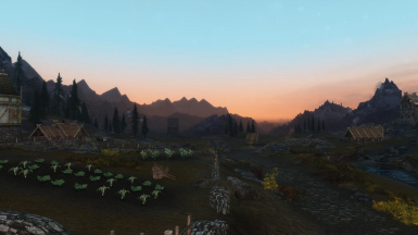 Dawn near Witherun