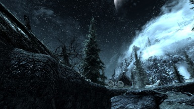 skyrim landacape riverwood 1245