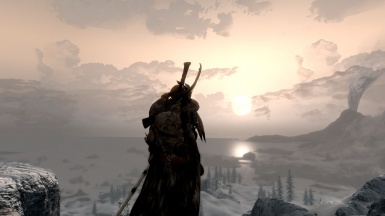 Winterhold sunset