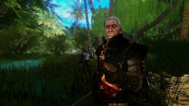 Geralt of Rivia Jungle