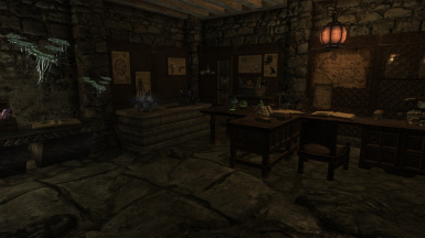 Alchemy and Potian area for upcoming house mod