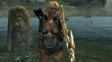 New bow and armour