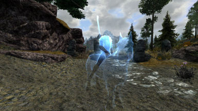 Headless ghost on a horse