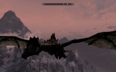 Play as a Forest Dragon - Flyable Dragon Races Mod
