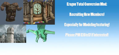Eragon Total Conversion Mod Recruitment