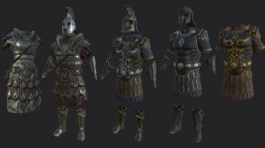 Frankly HD Imperial Armor and Weapons WIP 2
