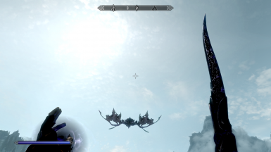 New dragon flying