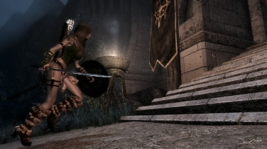 Attacking Fort Dawnguard