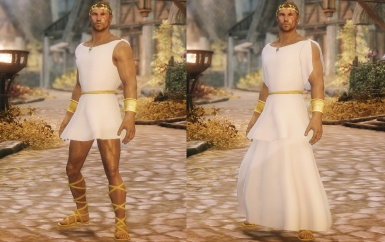 Imperial outfit for male characters - released