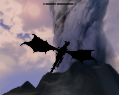 Alduin with The Bane of Kings retexture