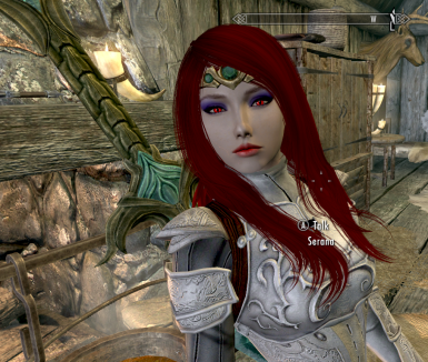 Seductress Serana Skyrim Mods by damnyou123