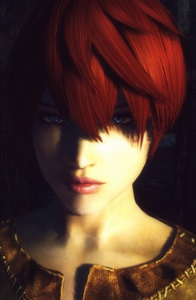 Red head Nord prisoner woman