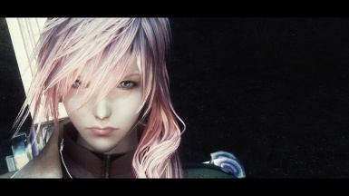 Reproduce the FF XIII Lightning  in skyrim