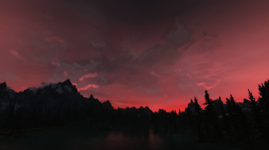 Dawn over Lake Ilinalta