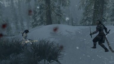 Duel in the Snow