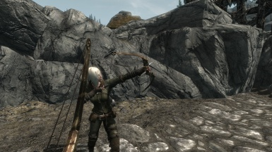 Dwemer compound bow