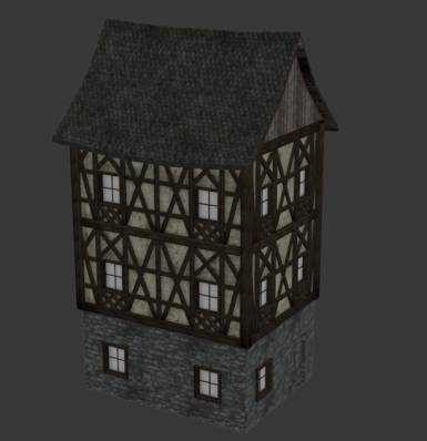 -WIP- Its Me The King - Tudor Styled house