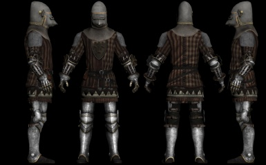 The King It's Me - Brigand Knight Partial Plate Armour