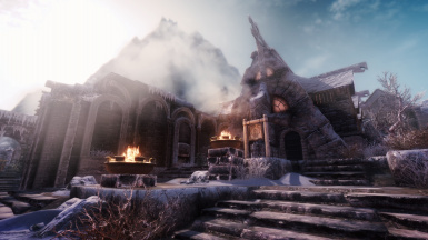 Clear day in Windhelm