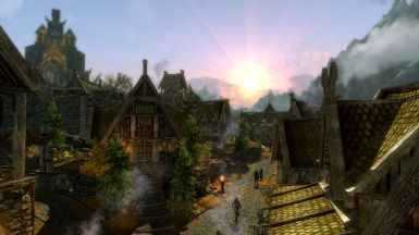JKs Whiterun at Dawn
