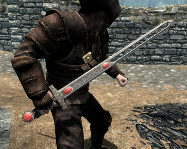 Gothic 3 Ruby sword - Ingame