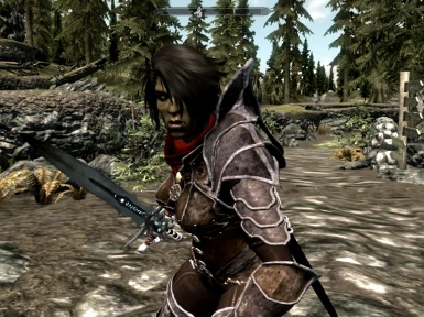 Orc Female vampire assassin