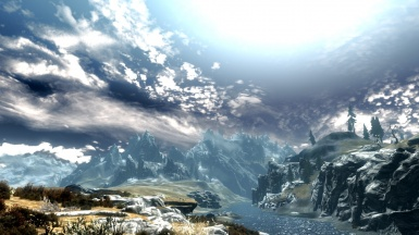 Skyrim To Far ENB