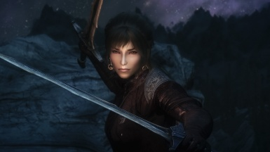 Noor is in a bad mood a angry Nord woman you should keep your distancs