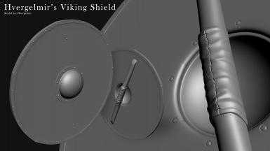 Hvergelmir's Armory - Viking Shield v1