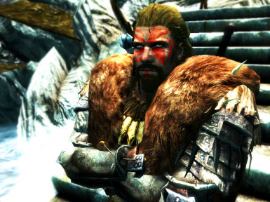 NorthMan Nord With Custom Warpaint