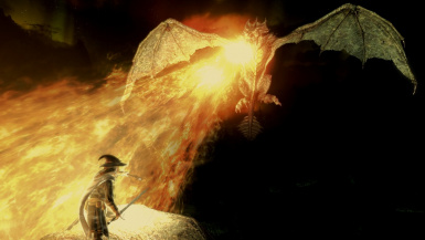 The dark fire will not avail you dragon of Udun