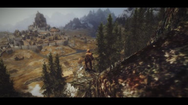 Wanderer - On the way to the Whiterun 01