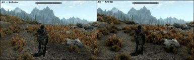 NVIDIA Ambient Occlusion - Before and After