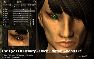 The Eyes Of Beauty Elven Edition Wood Elf