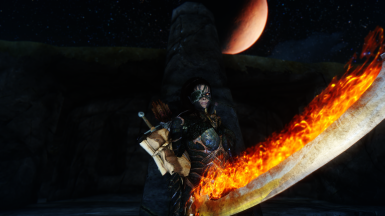 Burning Rustam Under the Moon