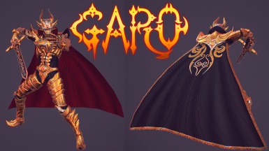 Garo Armor Custom final version