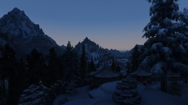 NLA 2 ENB - dawn moutain