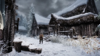 Seasons of Skyrim ENB - In the Snow