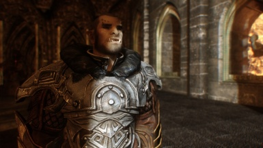 Natural Light and Atmospherique ENB - Orc in dungeon 1