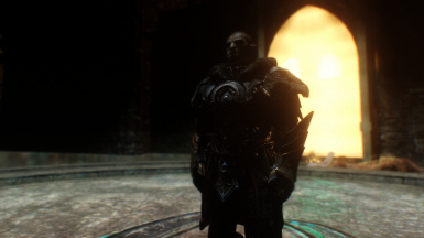 Natural Light and Atmospherique ENB - Orc in dungeon 2