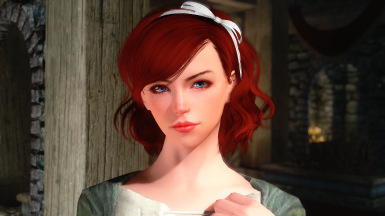 Test new hair and ENB