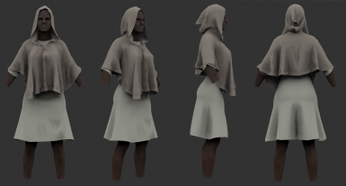 Some cloth for Beyond skyrim civilians