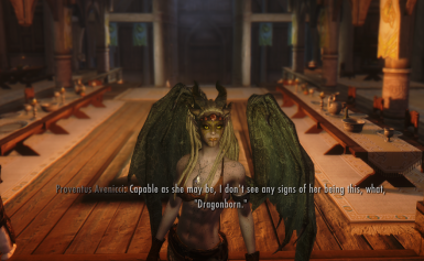 Not the Dragonborn