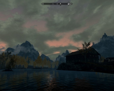 Sunset with Daemons ini and enb