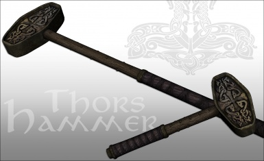 Ghosu Weapon Pack Thors Hammer added