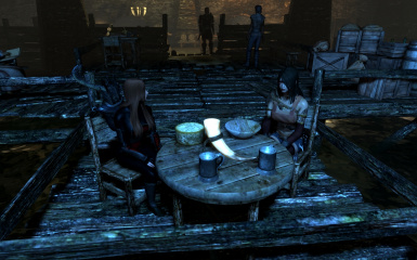 Dining in the Ragged Flagon