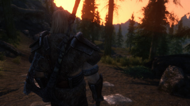 Walking to Whiterun